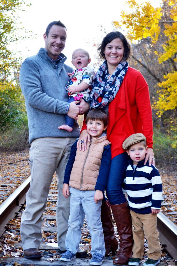 Kaelyn Benham Family Photo